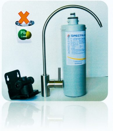uFix mosogató alá szerelhető víztisztító, ólommentesítő patronnal