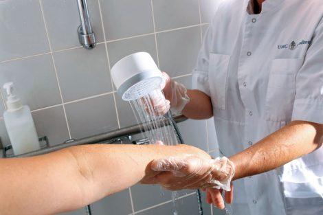 Pentair X-flow egészségügyi zuhanyszűrő steril  CE Class IS